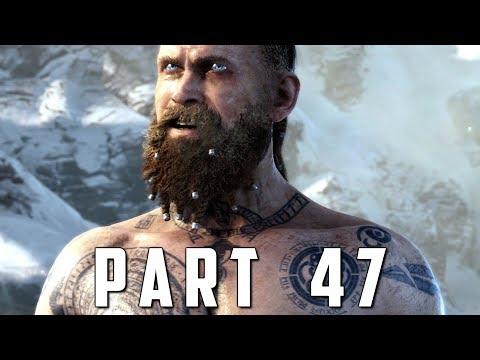 GOD OF WAR Walkthrough Gameplay Part 47 - SERPENT'S MOUTH (God of War 4)