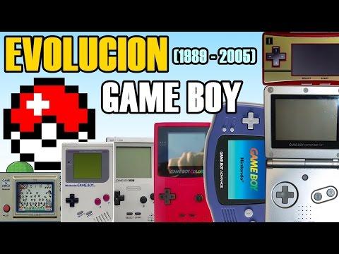 Evolución del Game Boy (1989 - 2005) (Nintendo)