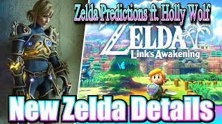 Zelda Breath of the Wild 2 & Link's Awakening New Features & Predictions ft. Holly Wolf