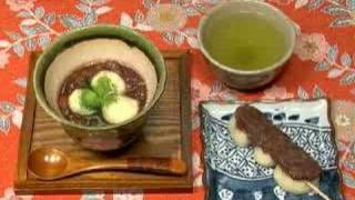 How to Make Zenzai&Anko (Japanese Red Bean Sweets) ぜんざいと餡子の作り方