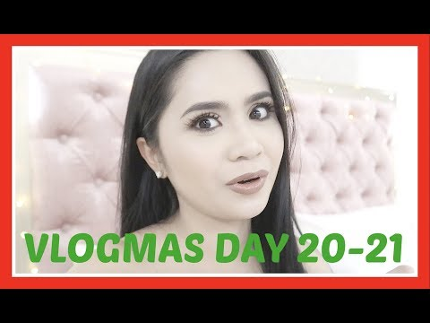 VLOGMAS Day20-21: Puyat Levels + Work Ni Geloy | Anna Cay ♥