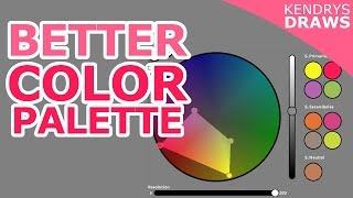 Color gamut- how to make a better color palette