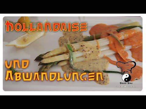 Sauce Hollandaise und deren Abwandlungen