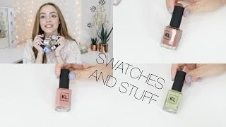 KL Polish Spring Swatches + Names Chit Chat