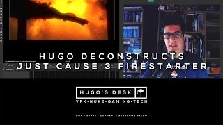 This week I Deconstruct one of my VFX shots from the Just Cause 3 Trailer we made at Fire Without Smoke. Enjoy. As always please like, share, leave a comment and subscribe to my channel: Hugo's Desk.