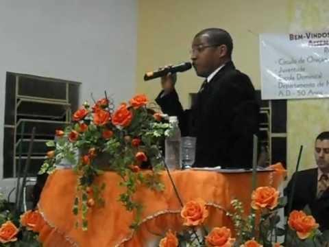 Flavio Alessandro - Ministrando na Assembleia de Deus de Selbach RS