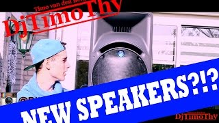 NEW SPEAKERS?!?! DJTIMOTHY VLOG #9 STAYTUNED!