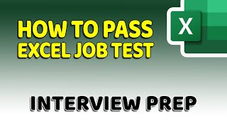 Video How To Pass Microsoft Excel Test - Get ready for the Interview MP3, 3GP, MP4, WEBM, AVI, FLV September 2019