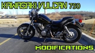 7. Modifying the Kawasaki Vulcan 750