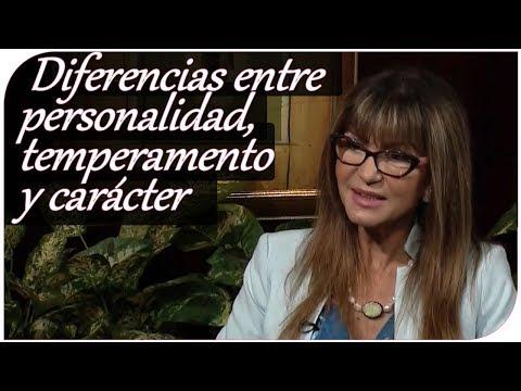 Diferencias entre personalidad, temperamento y carácter