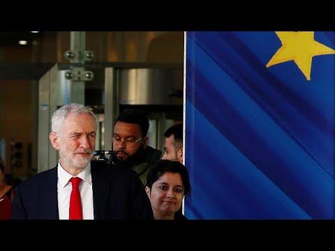 Großbritannien: Oppositionschef Corbyn für 2. Referendum über Brexit