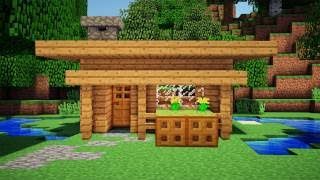 Minecraft: Starter House Tutorial - How to Build a House in Minecraft / Simple & Easy