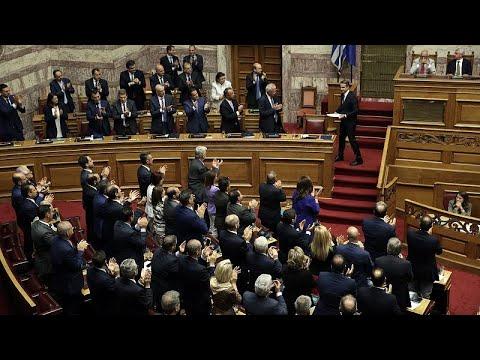 Ψήφο εμπιστοσύνης πήρε η κυβέρνηση του Κυριάκου Μητσοτάκη…