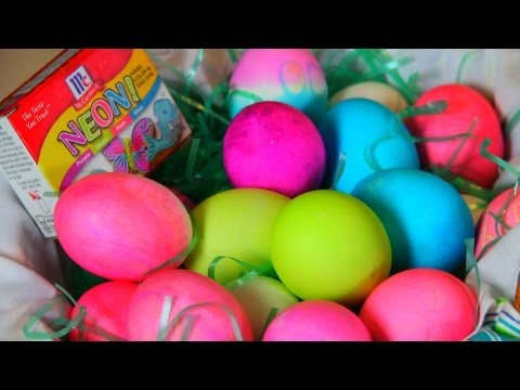 easter - Rebecca Brand shows you how to make dyed eggs for Easter eggs from scratch with food coloring. Easter eggs are easy to make at home and this is a great kids ...