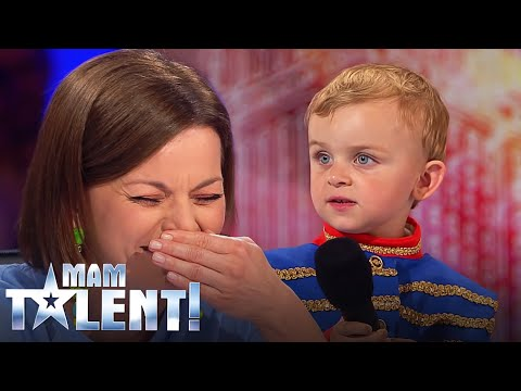 Trzylatek wyszedł na scenę powiedzieć wierszyk! Gdy chłopczyk zaczął recytować Chylińska i Prokop byli w szoku!