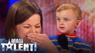 Trzylatek wyszedł na scenę powiedzieć wierszyk! Gdy zaczął recytować Chylińska i Prokop byli w szoku!