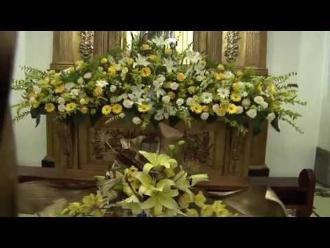 Exposición floral en Catedral Metropolitana