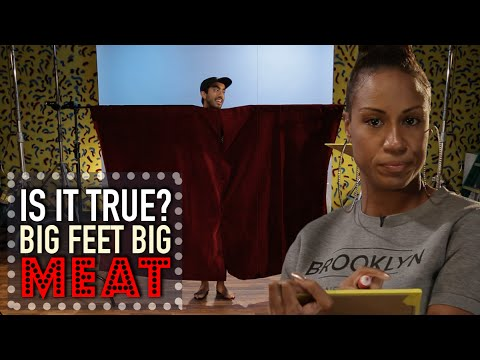 Big Feet Equals Big Meat - Is It True? - By All...
