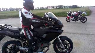 3. Ducati Multistrada 1000 DS view, start up, sound