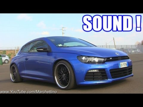 VW Scirocco R Lovely Sound! Start, Rev, Accelerations