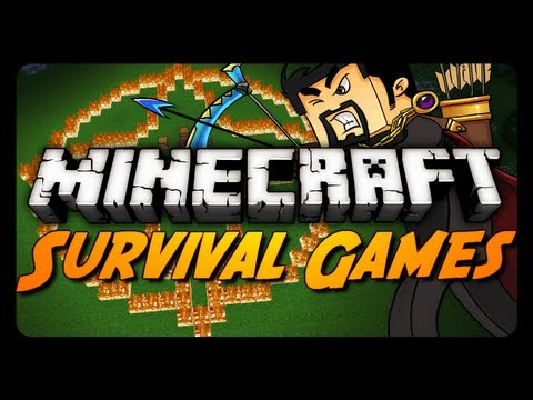 Minecraft: HARDCORE MODE! (Hunger Games Survival)