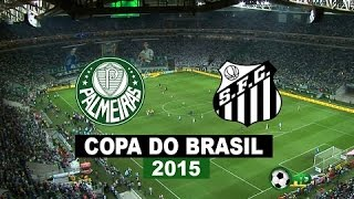 Palmeiras 2 Santos 1 pênaltis final da Copa do Brasil 2015.
