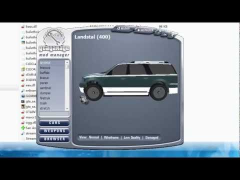 Gta San Andreas - Como Instalar Nuevos Autos con GGMM (loquendo)