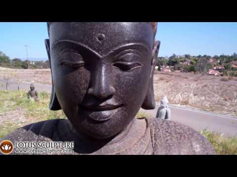 SOLD Stone Varada Garden Buddha 40