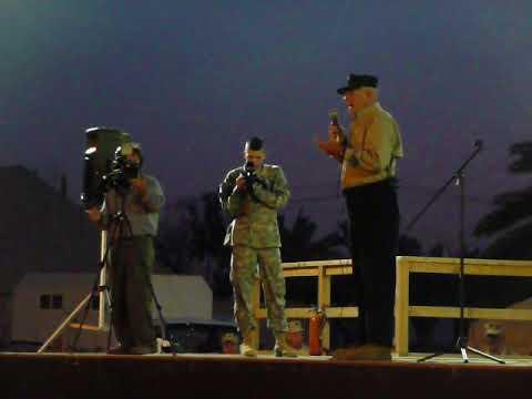 Gunny R. Lee Ermey Live in Iraq 3 Dec 2008