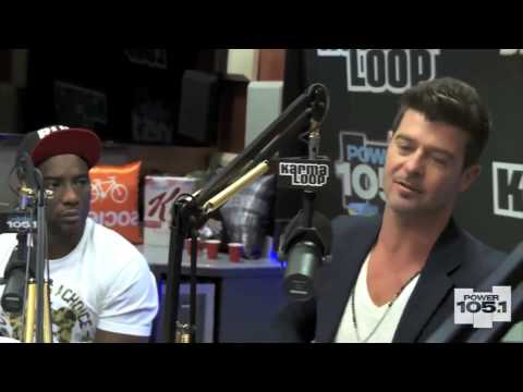 Robin Thicke and Paula Patton's Marriage-The Rise & Fall