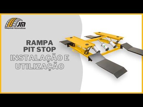 Elevador Pit-Stop - Instalação e Utilização