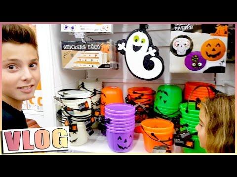 Halloween / Shopping pour Halloween en famille / VLOGTOBER
