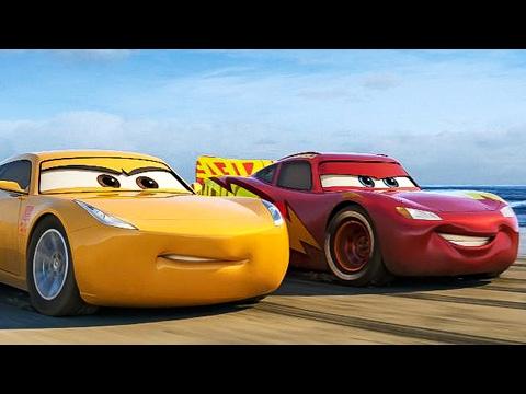 CARS 3 Trailer 1 - 3 (2017) (видео)