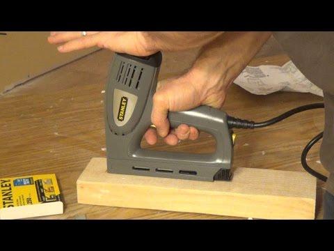 Stanley Electric Staple/Nail Gun (TRE550)