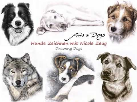 Hunde Zeichnen mit Nicole Zeug – Drawing Dogs