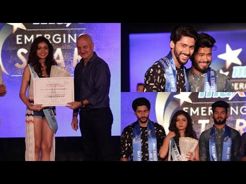 Anupam Kher At MAX Emerging Star 2017