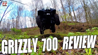 10. GRIZZLY 700 TEST REVIEW: Pushing the 2007 Best Selling Big Bore ATV Off-Road