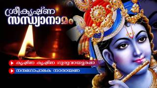Evergreen Hindu Devotional Album   Sreekrishna Sandhya Namam   Lord Krishna Song   Audio Jukebox