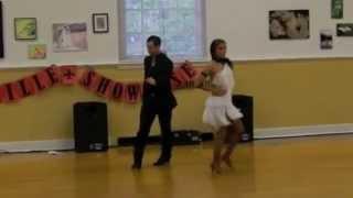 David Royer and Tabitha Haist salsa performance video
