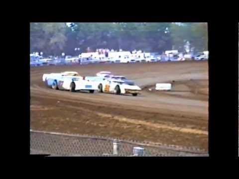 Dirt Track Racing  1st Heat Race IMCA Late Model's Independence Motor Speedway 1980's?