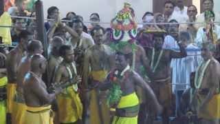Firewalking Festival 2013- Sri Mariamman Karagam at Firepit