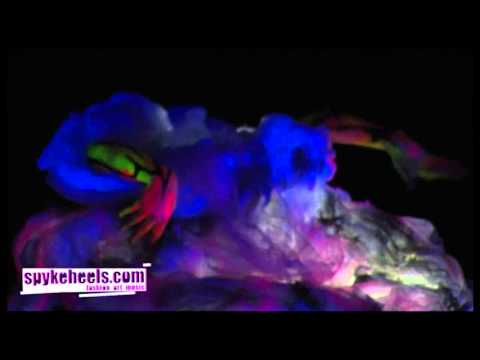 WORLD BODYPAINTING FESTIVAL 2012, AUSTRIA - UV Night Contest