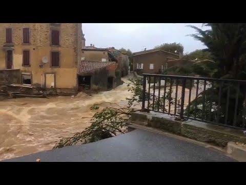 Φονικές πλημμύρες στην Οντ της Γαλλίας