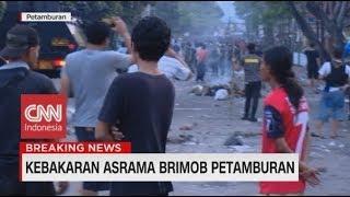 Video Kronologi Pembakaran Mobil, Motor & Penyerangan di Asrama Brimob Petamburan MP3, 3GP, MP4, WEBM, AVI, FLV Juli 2019