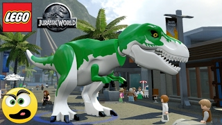 Lego Jurassic World - Rex do Filme Toy Story ( BUGOU GERAL )