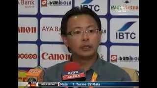 (MALAYSIA U23 2-1 VIETNAM U23) : Komen Coach MALAYSIA&VIETNAM