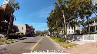 Fernandina Beach (FL) United States  City new picture : Driving Onto Amelia Island To Downtown Fernandina, Florida