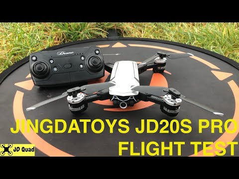 JD20S Pro Flight Video - Courtesy of Banggood