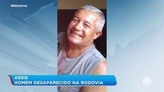 Família de Assis procura por homem que está desaparecido