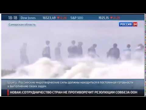 Тренировка российских миротворцев (видео)